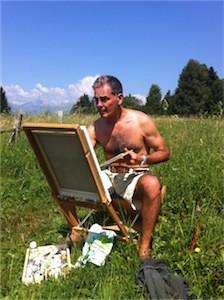 biografia artista al lavoro