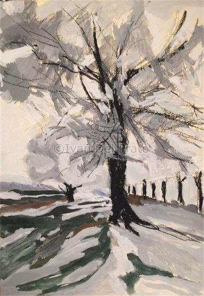 Inverno a Montcombroux-vieux